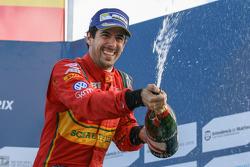 Podium : le deuxième Lucas di Grassi, ABT Schaeffler Audi Sport