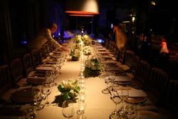 Cena di gala, i preparativi