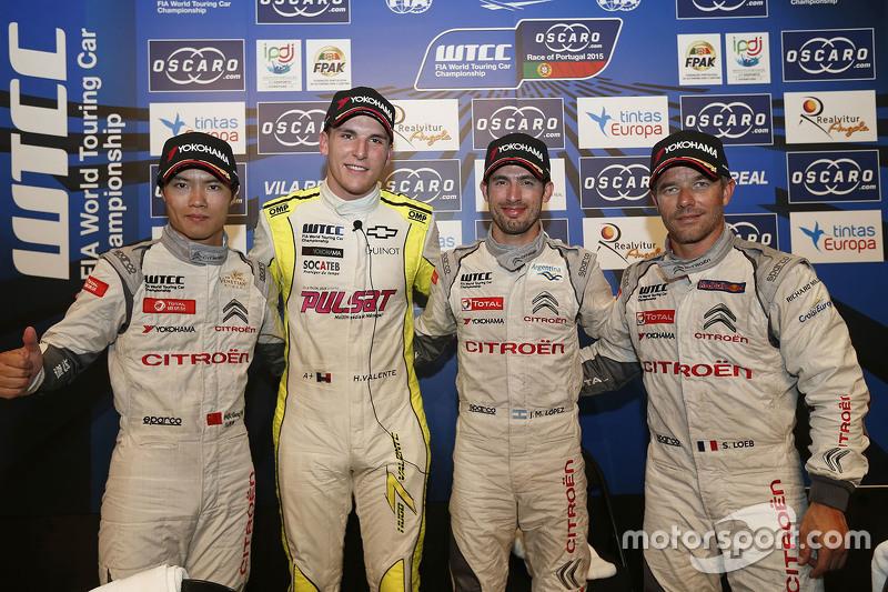 Ma Qing Hua, Citroën World Touring Car team, Hugo Valente, Campos Racing, Jose Maria Lopez, Citroën