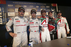 Press conference: Yvan Muller, Citroën World Touring Car team, Ma Qing Hua, Citroën World Touring Ca