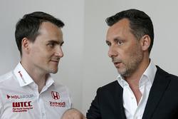 Норберт Михелиц, Honda Civic WTCC, Zengo Motorsport и Франсуа Рибейро, промоутер WTCC