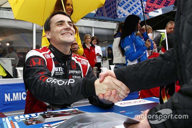 Норберт Міцеліс, Honda Civic WTCC, Zengo Motorsport