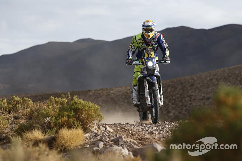 10. #17 Sherco: Juan Pedrero