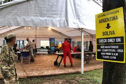 Contrôle à la frontière entre l'Argentine et la Bolivie