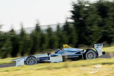 Emmanuel Collard, Formula E test, Issoire
