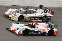 #54 CORE autosport Oreca FLM09: Джон Беннетт, Колін Браун, Марк Вілкінс, Марітн Пломен, #5 Action Ex
