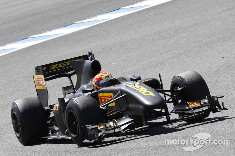 F1倍耐力测试:卢卡斯·迪格拉西