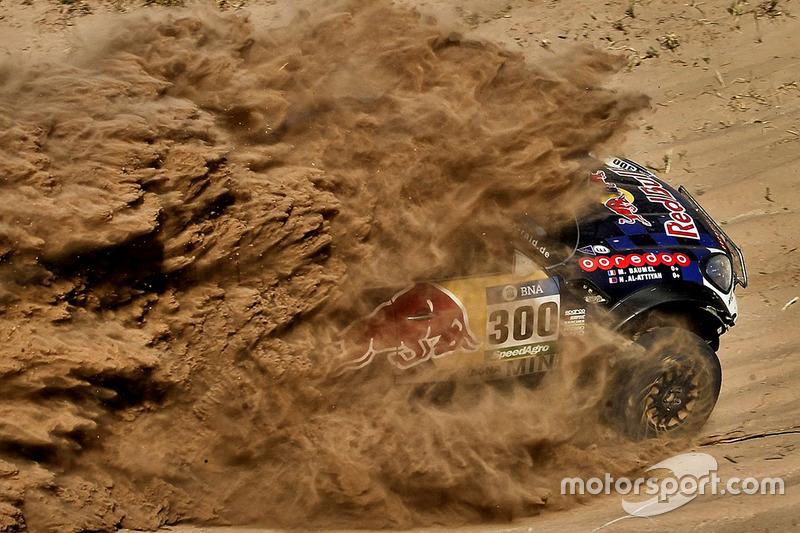 10. #300 Mini: Nasser Al-Attiyah y Matthieu Baumel