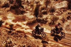Дзюн Мицухаши, #71 KTM и Юрген ван дер Горберг, #40 KTM