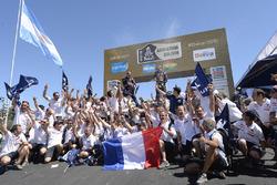 Categoria auto, i vincitori #302 Peugeot: Stéphane Peterhansel, Jean-Paul Cottret