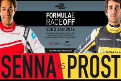 Nicolas Prost, Bruno Senna, Formula E Race Off