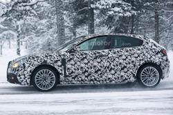 Alfa Romeo Giulietta facelift spyfoto