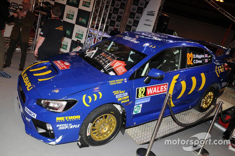 Subaru Rallyefahrzeug