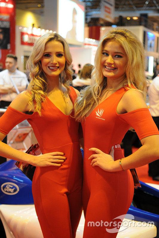 Silverstone Promo Girls At Autosport International Show