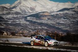 Bryan Bouffier, Victor Belloto, M-Sport World Rally Team, Ford Fiesta WRC