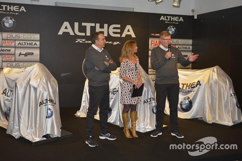 Präsentation Althea Racing