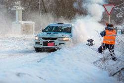 Дмитрий Коротин и Андрей Стуков, Mitsubishi Lancer Evo IX