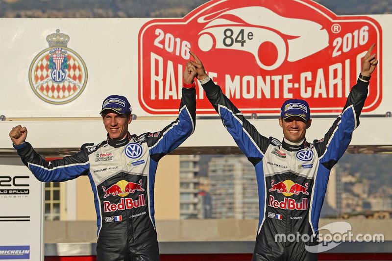 Sieger Sébastien Ogier, Julien Ingrassia, Volkswagen Motorsport
