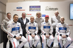Marino Franchitti, Stefan Mücke, Andy Priaulx, Olivier Pla, Chip Ganassi Racing, George Howard-Chappell, Ford GT program menajeri, Larry Holt, Multimatic Motorsporları Teknik Direktörü, Dave Pericak, Director, Ford Performance, Chip Ganassi, Chip Ganassi Racing