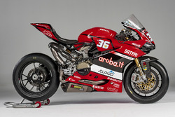 Motocicleta de Leandro Mercado, Aruba.it Ducati SuperStock 1000 Junior Team