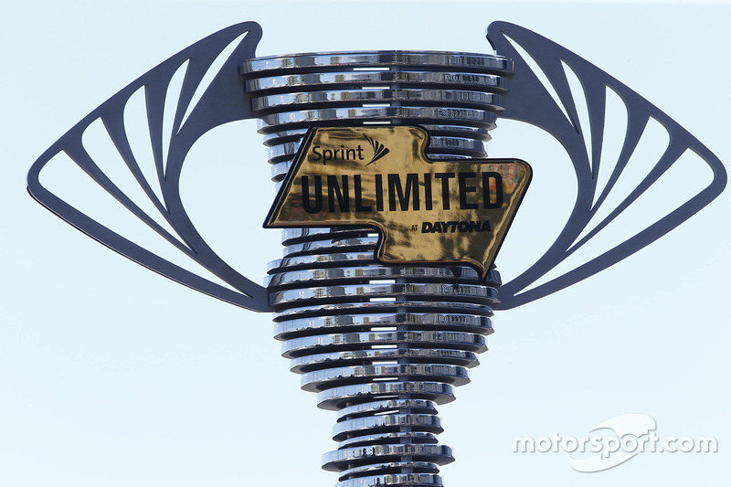El trofeo Sprint Unlimited