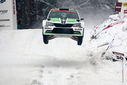 Pontus Tidemand, Jonas Andersson, Skoda Motorsport, Skoda Fabia R6
