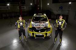 Lee Holdsworth und Karl Reindler, Team 18 Holden