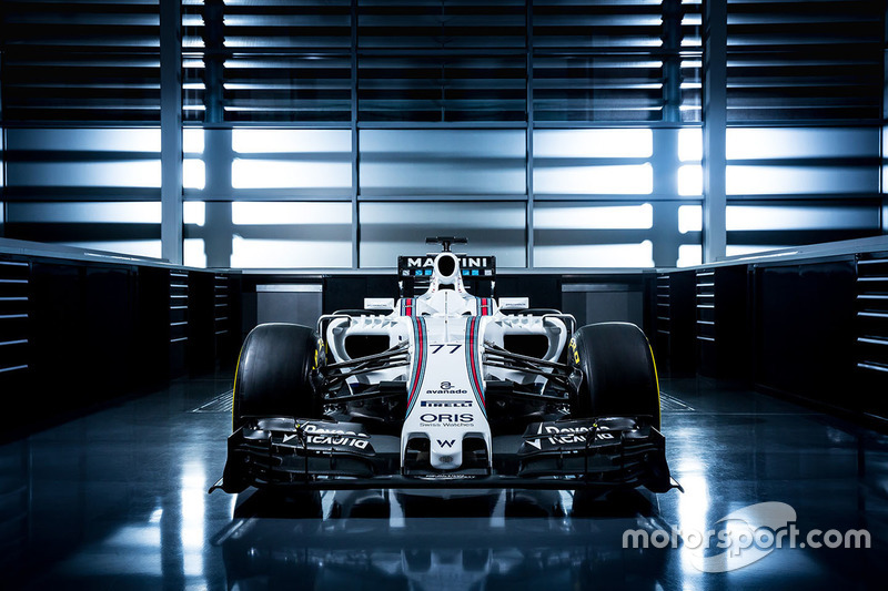 Su último monoplaza en Williams, el FW38 de 2016