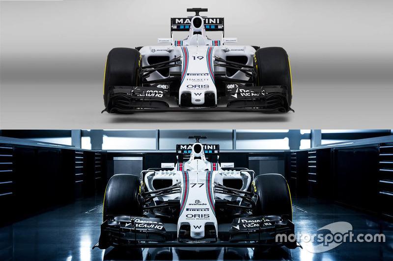 Comparación Williams FW37 y FW38
