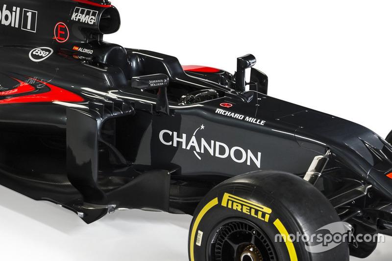 Détails de la McLaren MP4-31