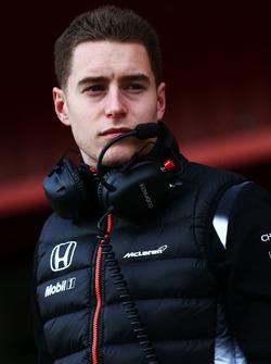 Stoffel Vandoorne, derde rijder McLaren