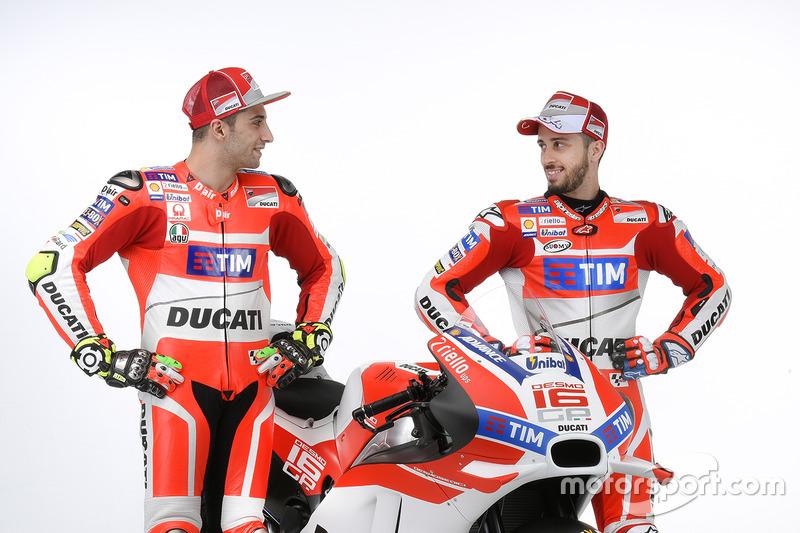 Andrea Iannone, Andrea Dovizioso, Ducati Team