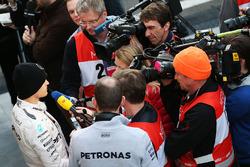 Nico Rosberg, Mercedes AMG F1 im Gespräch mit der Presse