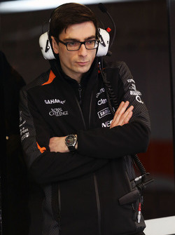Тим Райт, гоночный инженер Sahara Force India F1 Team