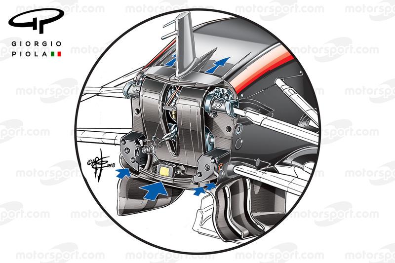 "McLaren MP4/30 ""S"" Duct"