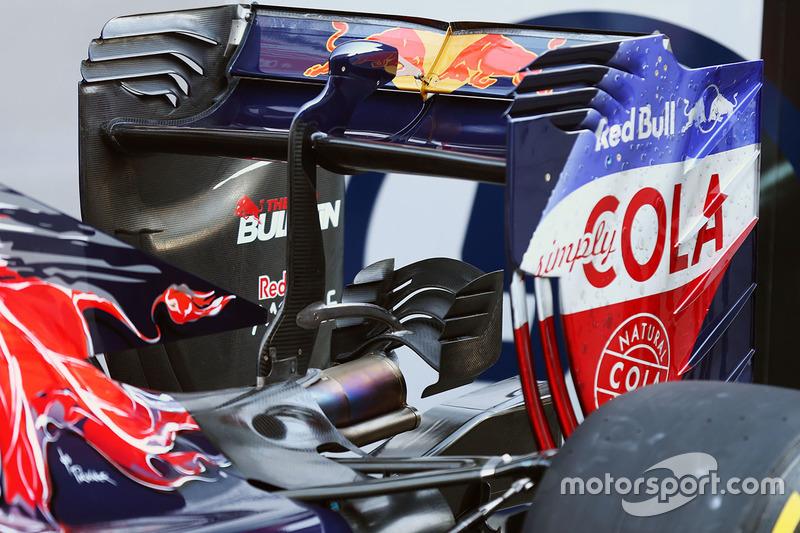 Scuderia Toro Rosso STR11, Heckflügel-Detail