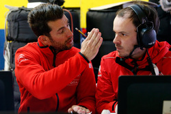 José María López, Citroën World Touring Car team is talking with the engineer