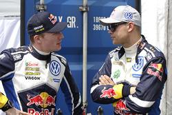 Jari-Matti Latvala, Andreas Mikkelsen, Volkswagen Motorsport