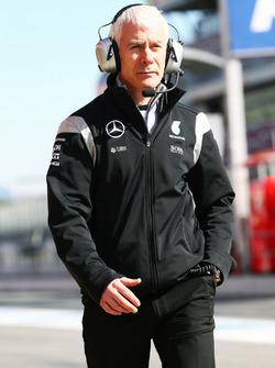 Джеофф Уиллс, технический директор Mercedes AMG F1