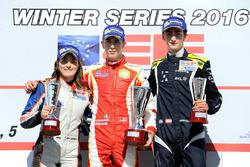 Подіум: переможець - Леонардо Пульчіні, Campos Racing, друге місце - Татьяна Кальдерон, Teo Martin Motorsport, третє місце - Фердінанд Хабсбург, Drivex School