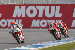 Michael van der Mark, Honda WSBK Team, Chaz Davies, Aruba.it Racing - Ducati Team et Davide Giugliano, Aruba.it Racing - Ducati Team
