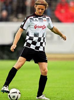 Nazionali Piloti vs. VIP football match: Nico Rosberg, WilliamsF1 Team