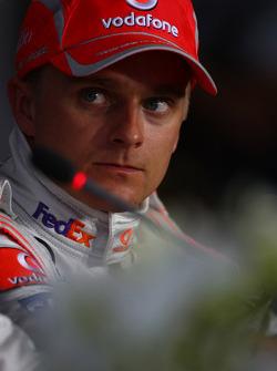 Press conference: Heikki Kovalainen