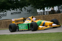 Lorina McLoughlin, 1992 Benetton Ford B192 (ex Michael Schumacher)