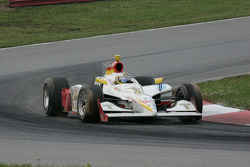 Mario Dominguez returns to the track without his rear wing
