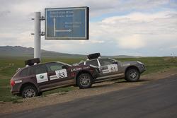 Press service vehicles