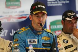 Post-race press conference: Alain Menu