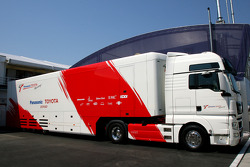 Toyota F1 Team, truck