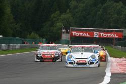 #123 Mühlner Motorsport Porsche 911 GT3 Cup S: Heinz Josef Bermes, Mark Thomas, Marc Basseng, Jean-François Hemroulle