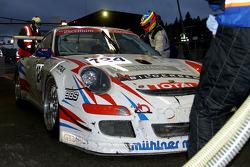 #124 Mühlner Motorsport Porsche 911 GT3 Cup S: Duncan Huisman, Paul Van Splunteren, Ian Khan, Roeland Voerman